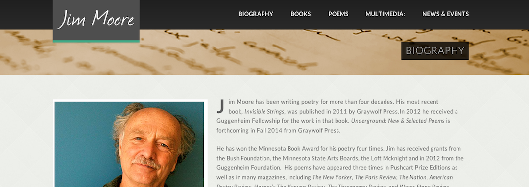 Jim Moore website